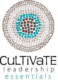 Cultivate Leadership Essentials - Leading Self Winter 2018